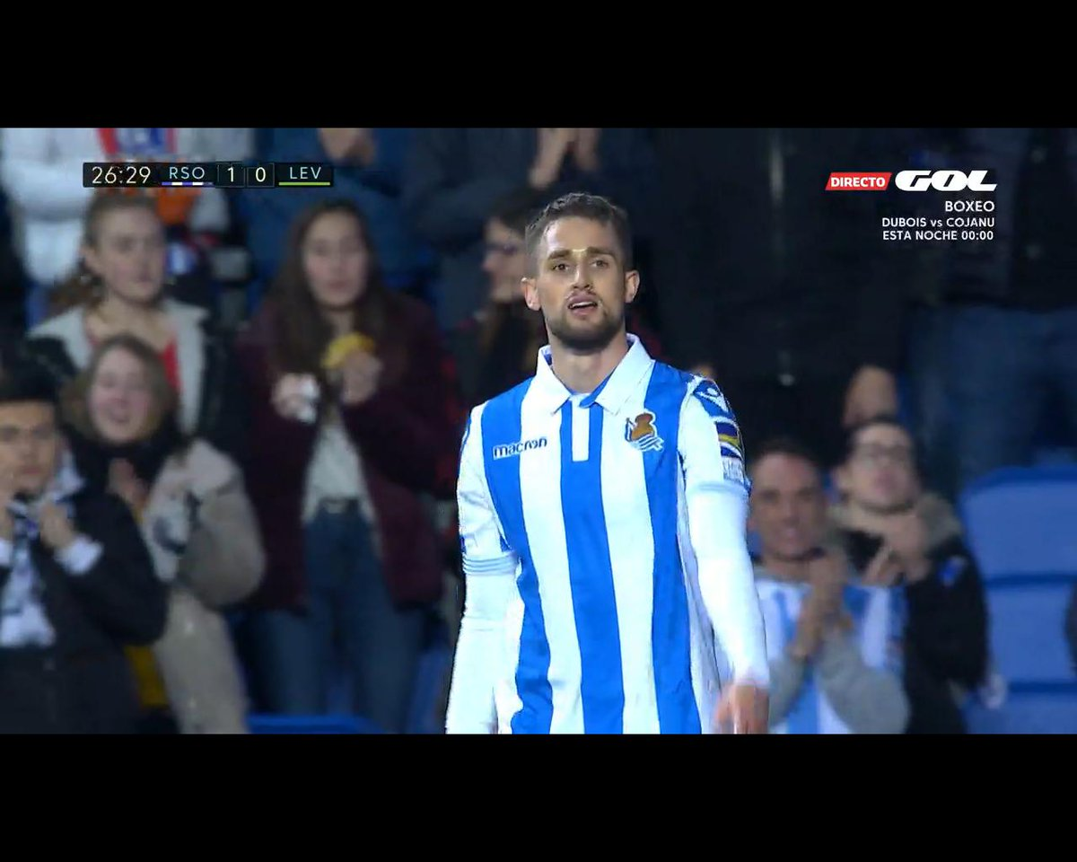 Dani Lanso's photo on Real Sociedad - Levante