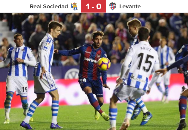 LAS PROVINCIAS's photo on Real Sociedad - Levante