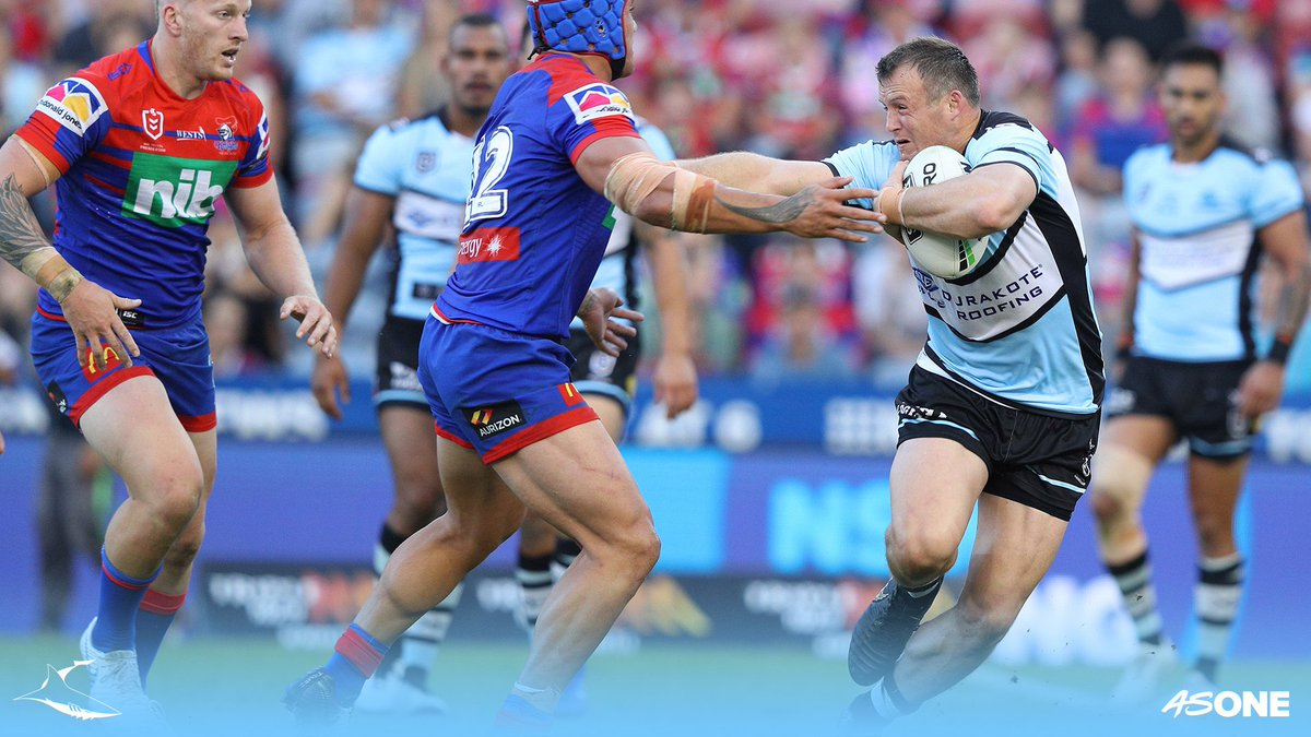 Cronulla Sharks FC's photo on #NRLKnightsSharks