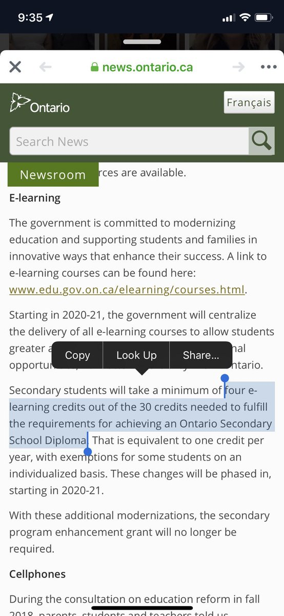 Liz Sollors's photo on #OntEdAnnouncement