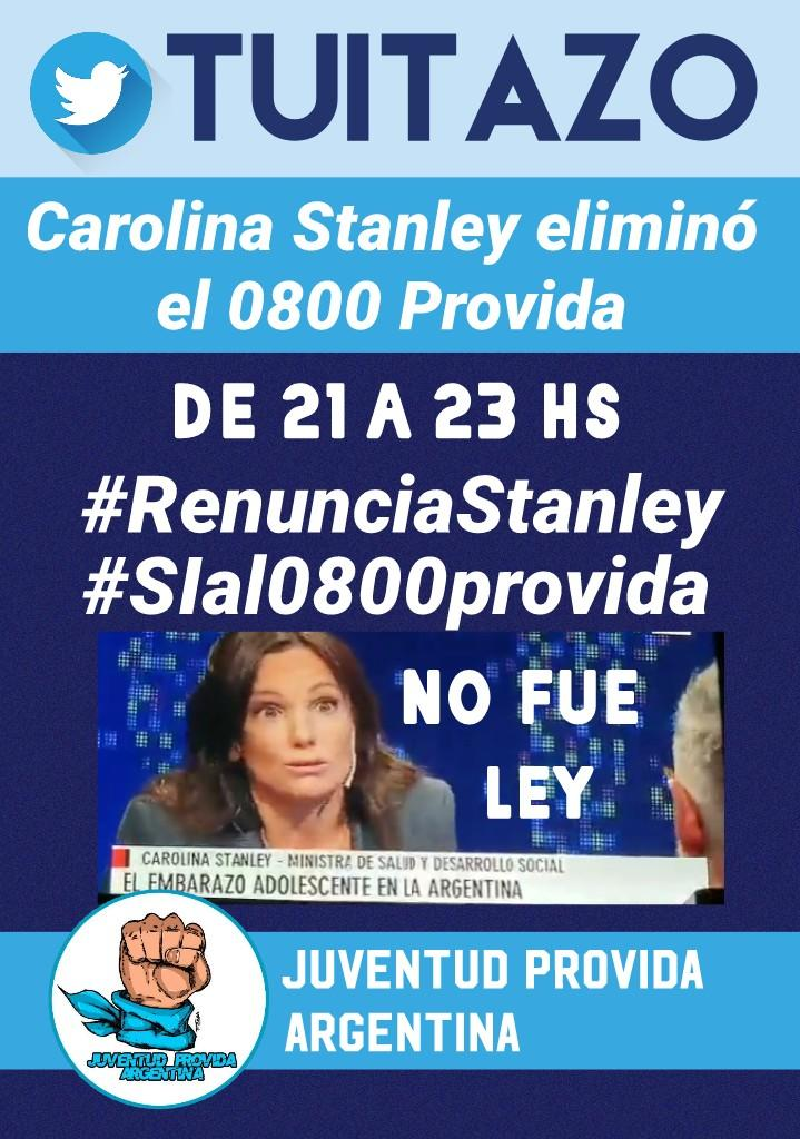 lorena del valle's photo on #RenunciaStanley