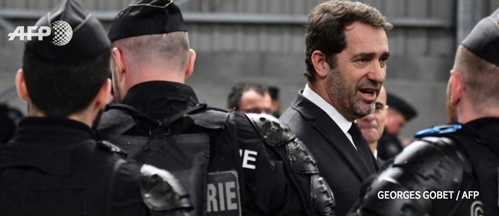 Agence France-Presse's photo on Christophe Castaner