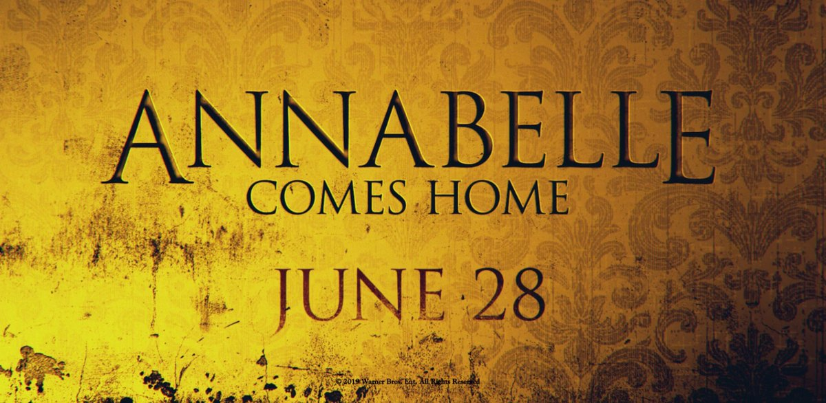 On June 28, #AnnabelleComesHome.