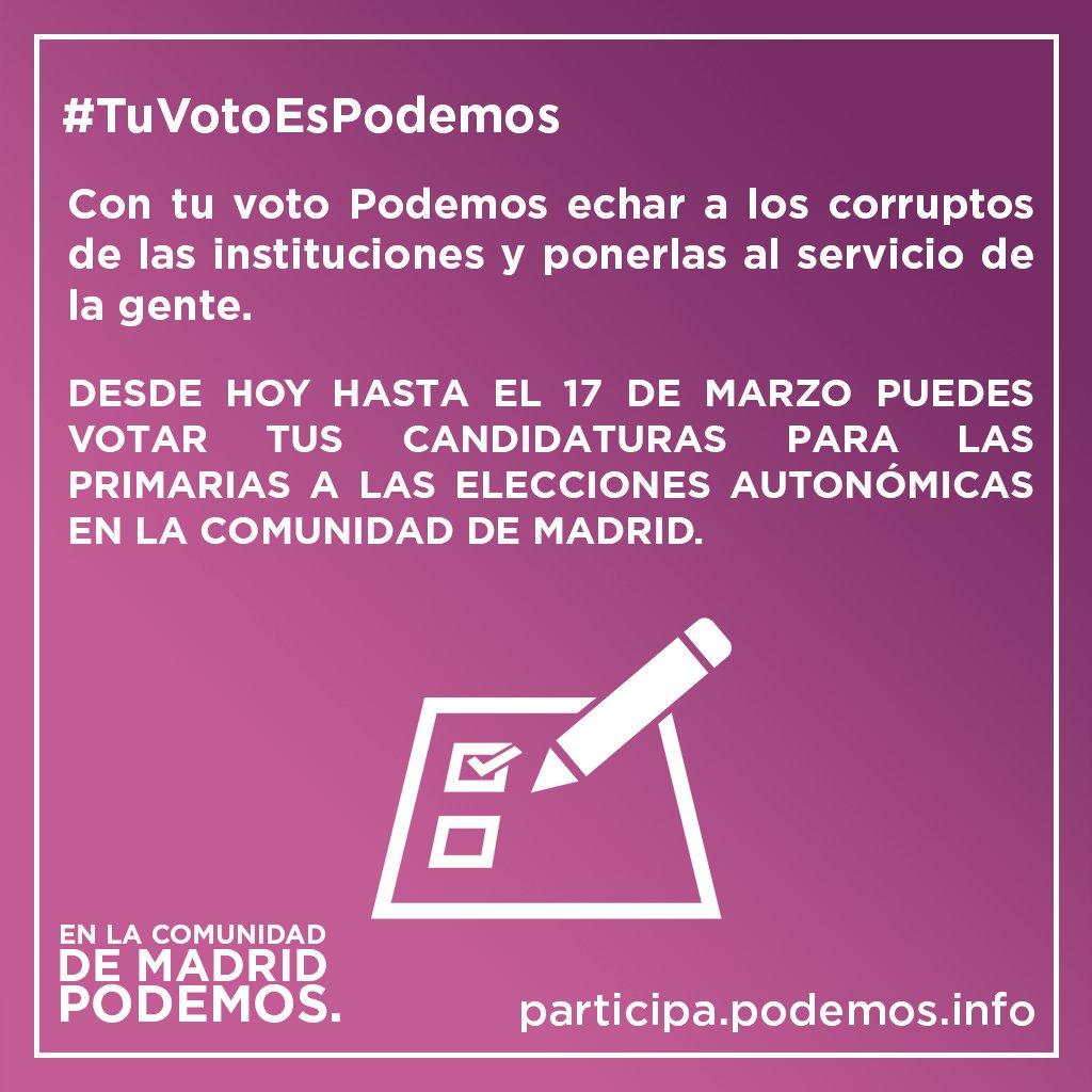 Marta Esteban's photo on #TuVotoEsPodemos