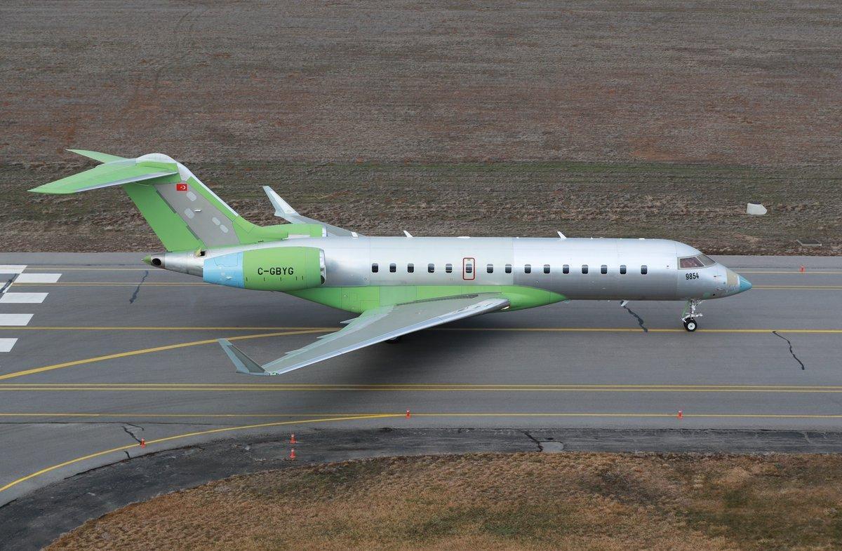 وصول طائرات bombardier global 6000 التي ستحمل نظم الحرب الإلكترونية المحلية HAVA SOJ إلى تركيا D1ulm3iWkAELCT-