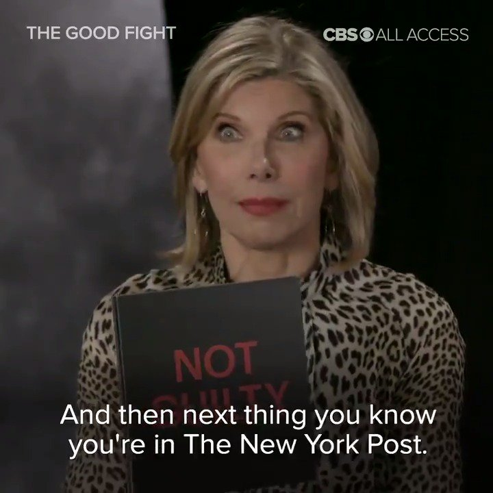 Do you think Christine Baranski would make her coworkers laugh during a take? Find out with this throwback to the cast of #TheGoodFight playing Guilty or Not Guilty!