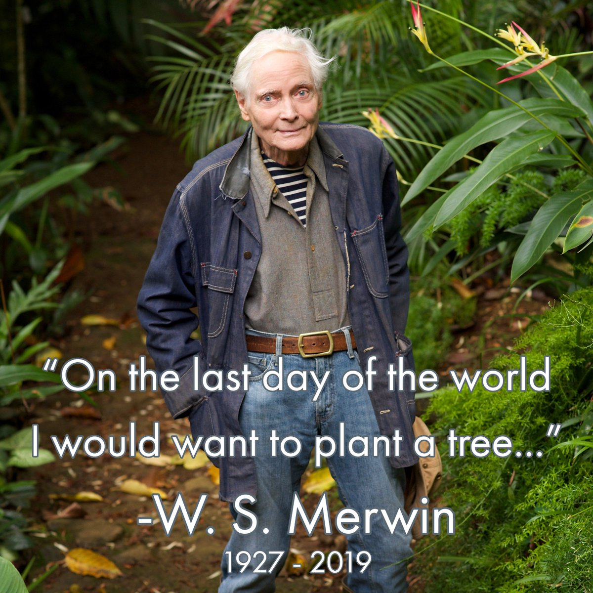 American Writers Museum's photo on W.S. Merwin