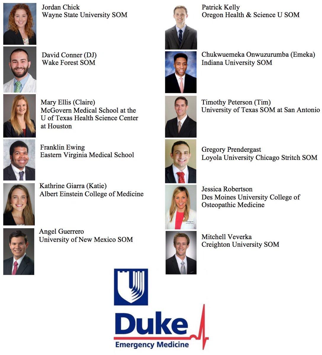 Duke EM Residency on Twitter: