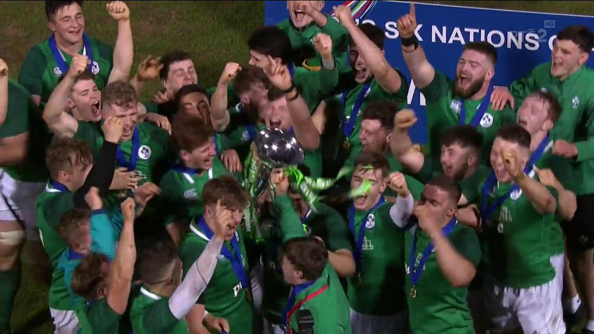 RTÉ Rugby's photo on #U20SixNations