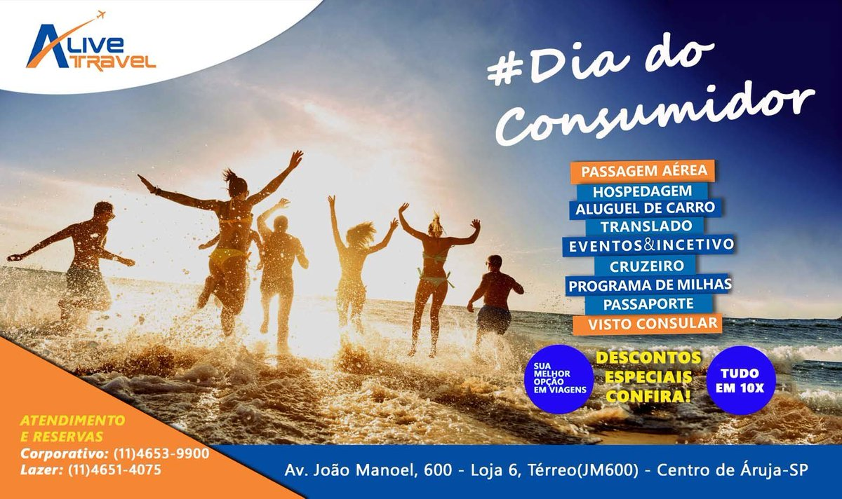 Alive Travel's photo on #DiaDoConsumidor