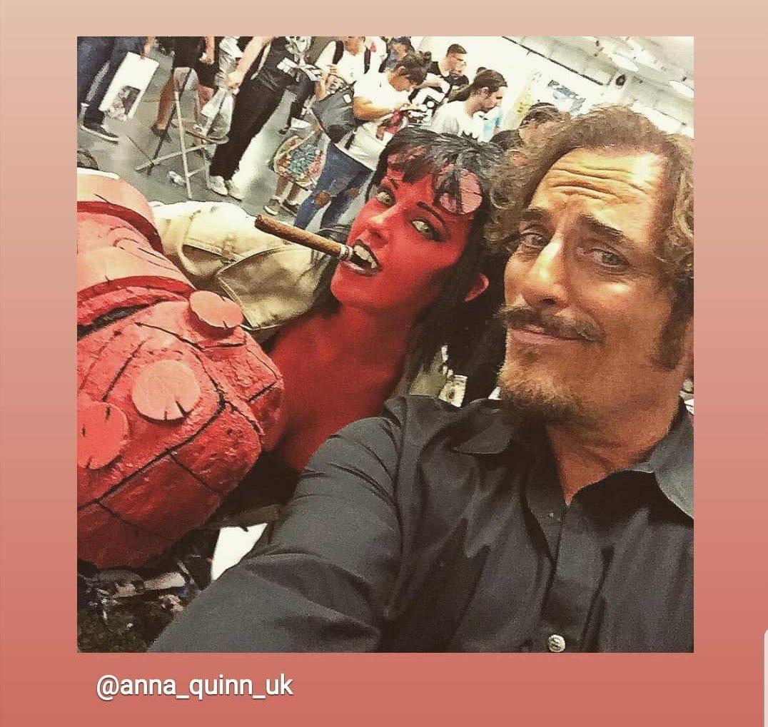 Anna Quinn's photo on #Hellboy