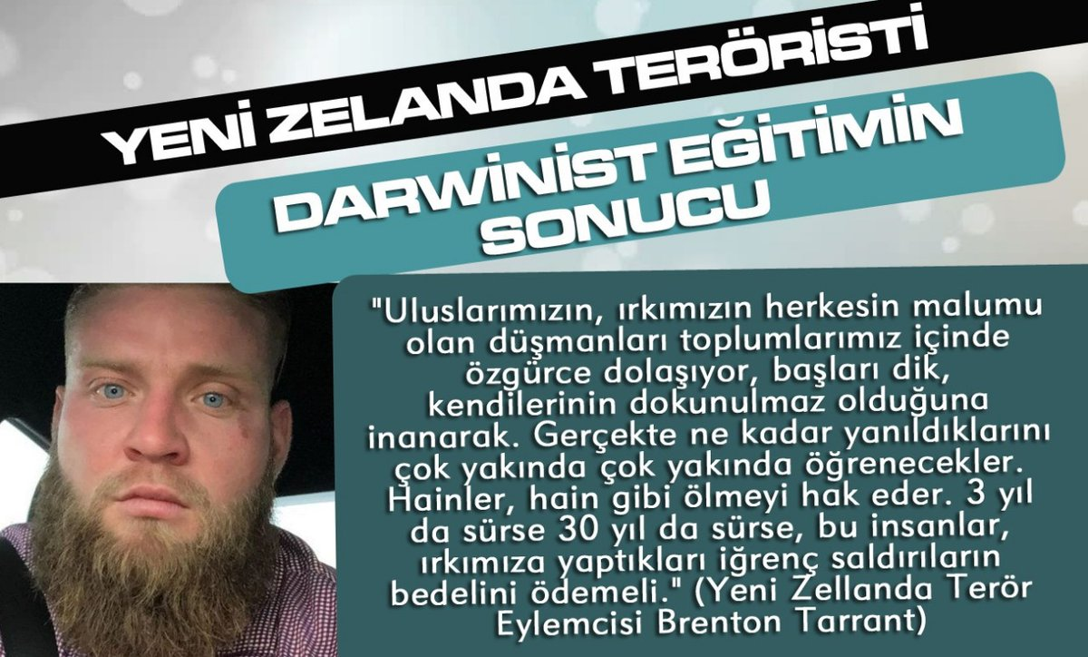 Yusuf Önder's photo on YeniZelandada DarwinistVahşet