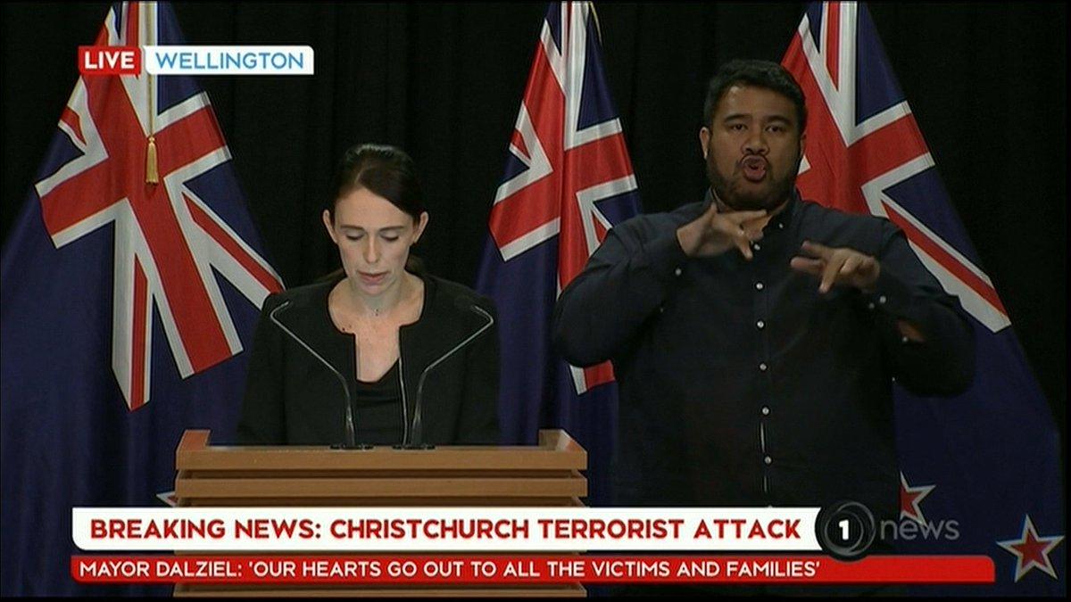 CP24's photo on New Zealand PM Jacinda Ardern