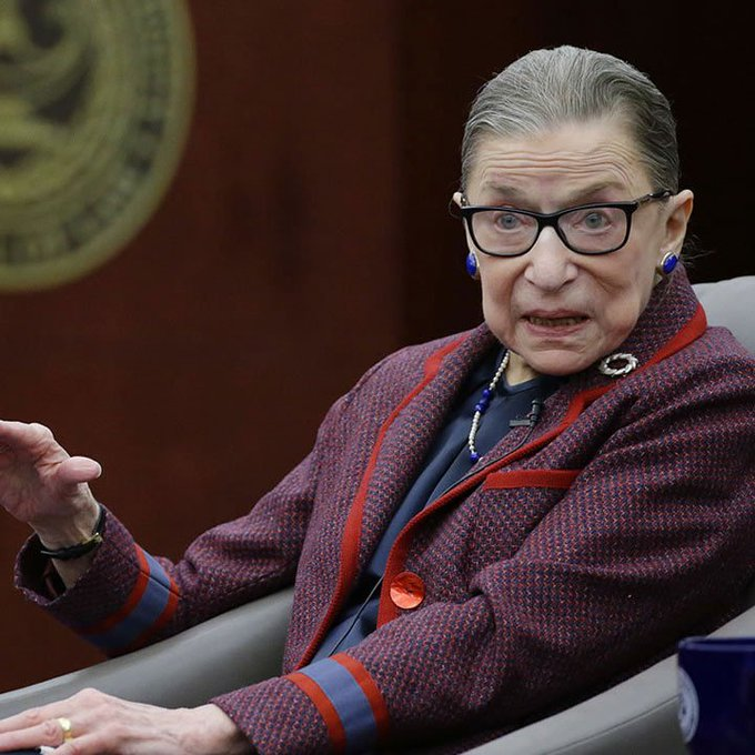 Happy birthday to Ruth Bader Ginsburg! RBG turns 86 years young today