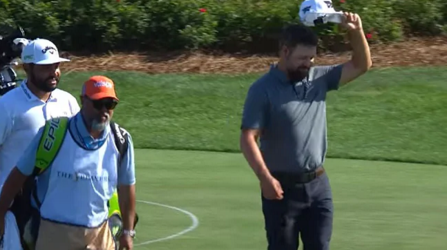 Ryan Moore drops amazing slam dunk ace at Players Championship  http://WWW. BLACKMAN.COM.AU  &nbsp;   <br>http://pic.twitter.com/7FIu9gaFig