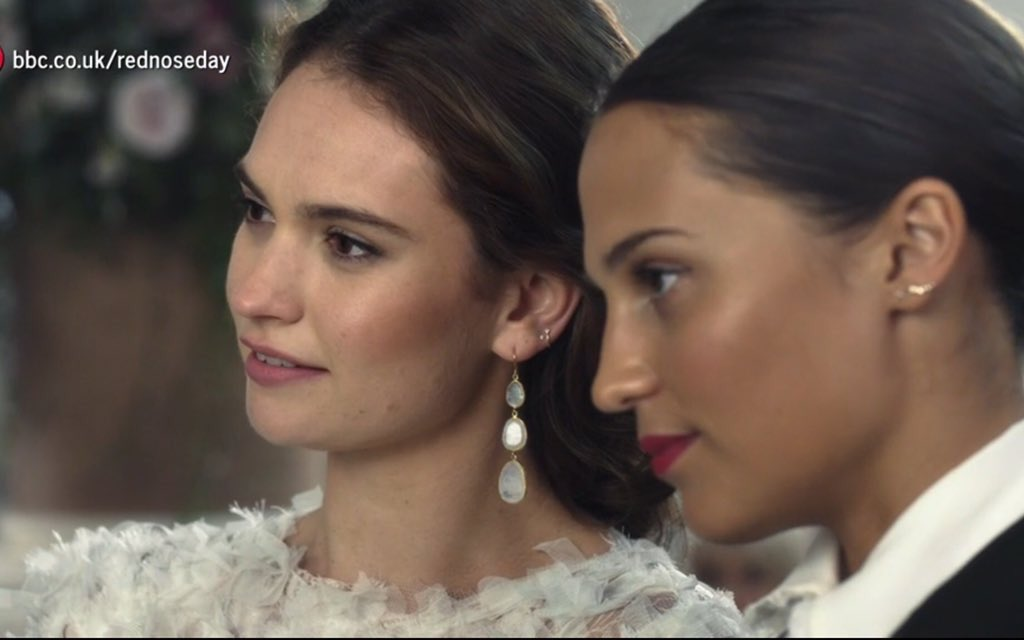 Alicia Vikander: This is the only thing I'll talk about from now.  Tweet by @AliciaVikanderD