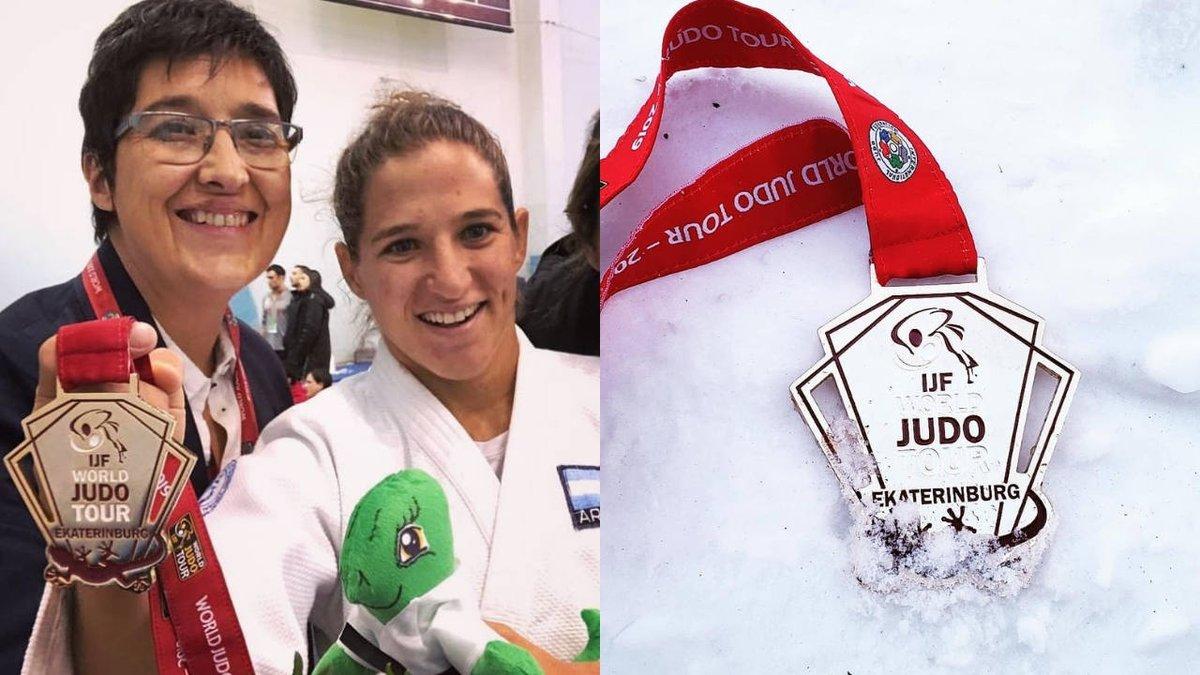 #Judo | Paula Pareto ganó el Grand Slam de judo en Ekaterimburgo