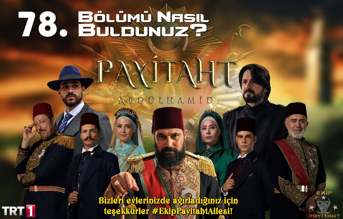 Payitaht ABDÜLHAMİD's photo on #BedeliÖdetilir