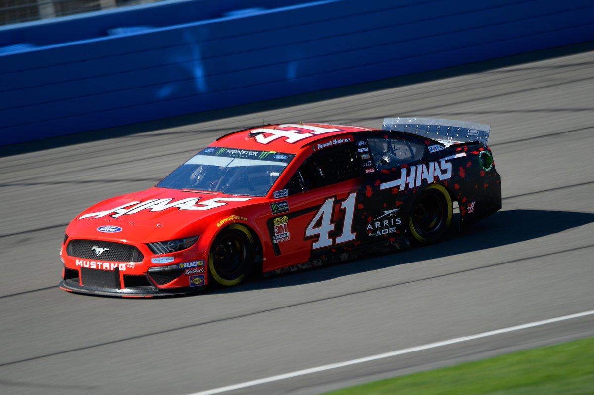 Stewart-Haas Racing's photo on #BuschPole
