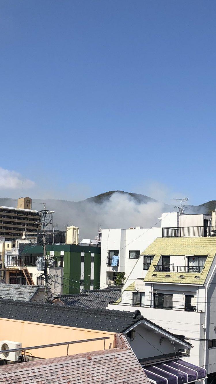 画像,近所で火事発生怪我人がいなければいいけど💧 https://t.co/YDt8vUxAu4。