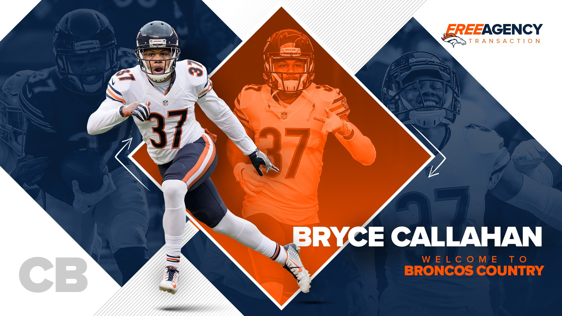 OFFICIAL: We've agreed to terms with CB Bryce Callahan.   �� » https://t.co/LWyZbUmKtn https://t.co/9UgviXAb5g
