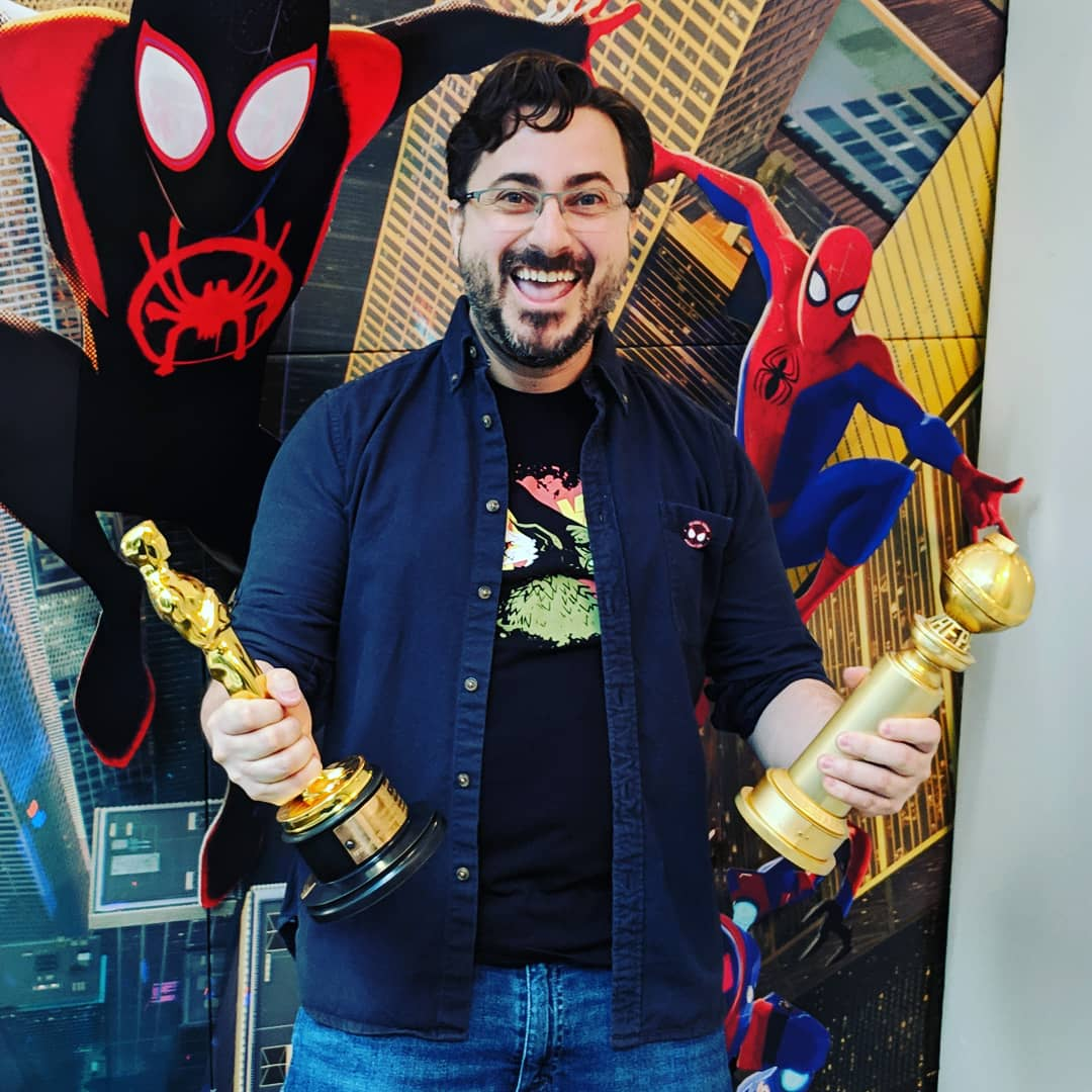 it&#39;s just surreal to be holding an Oscar and a Golden Globe. What an awesome ride! Thanks so much Josh Beveridge and @pramsey342 for bringing these two beauties to the team here in Vancouver!!!   #Spiderverse #Oscars #goldenglobes #sonyimageworks  https://twitter.com/caveiramanca/status/1106749834529107968/photo/1 <br>http://pic.twitter.com/3H8vhZRLlc  &nbsp;  <br>http://pic.twitter.com/dNg2Lw7NQy