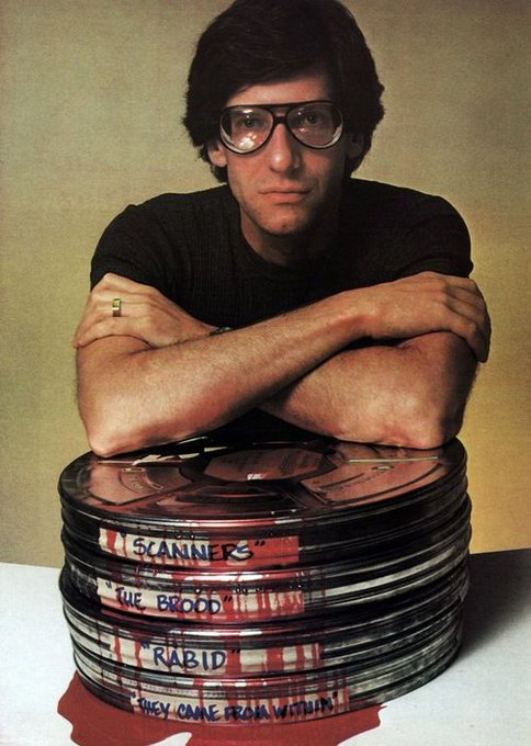 Today David Cronenberg turns 76! Happy Birthday, Mr. Cronenberg!