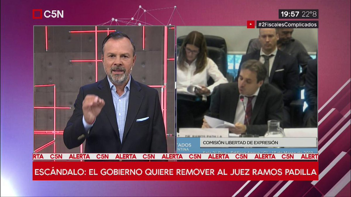 C5N's photo on #2FiscalesComplicados