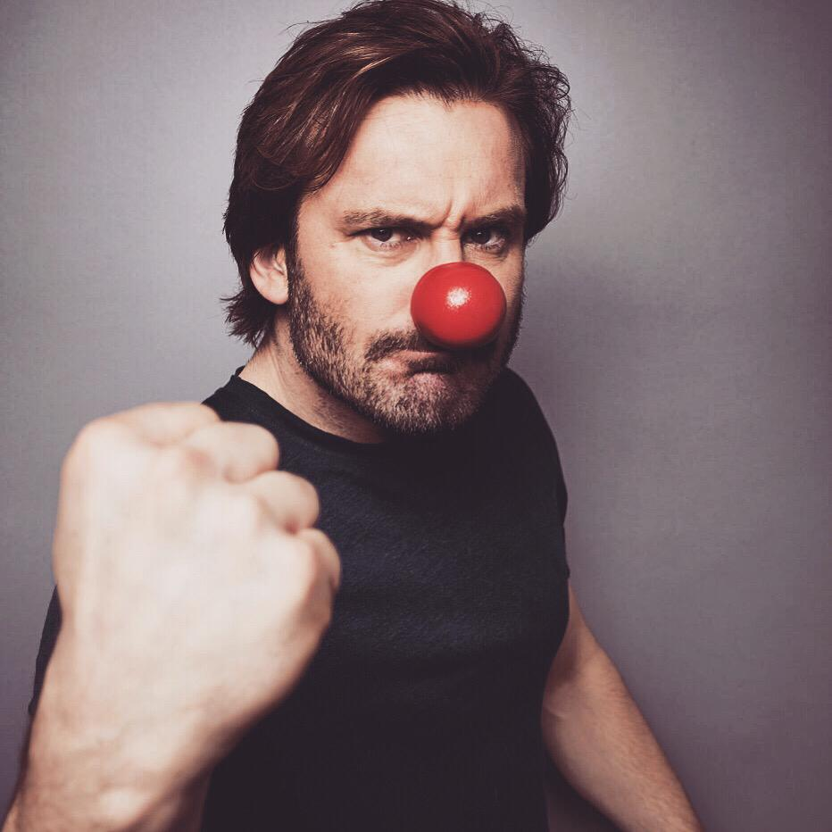 Clive Standen's photo on #comicrelief2019