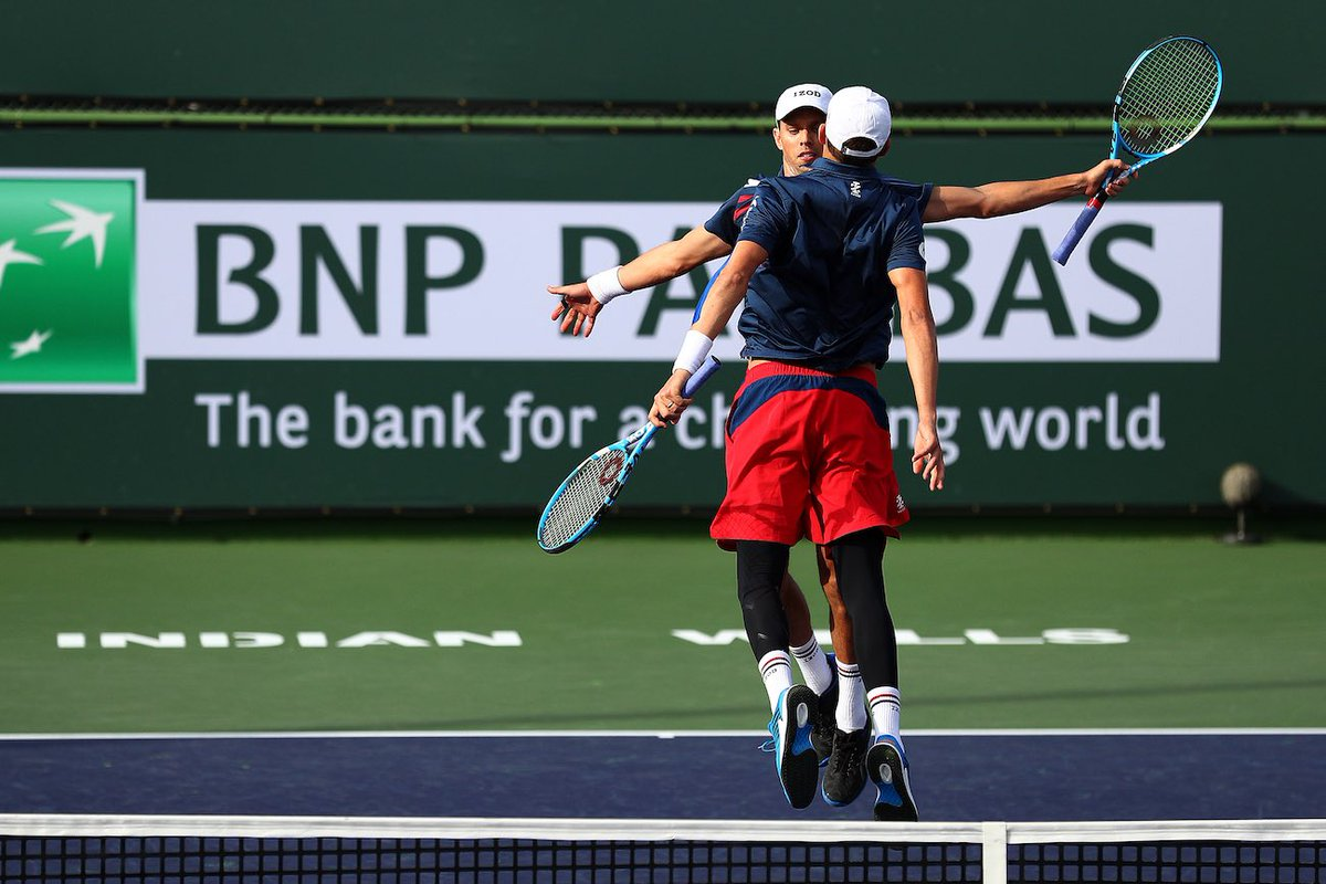 Can't wait to see more chest bumps... Next stop ➡️ Miami Open