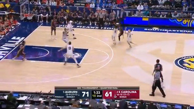 Auburn Basketball's photo on Jared Harper