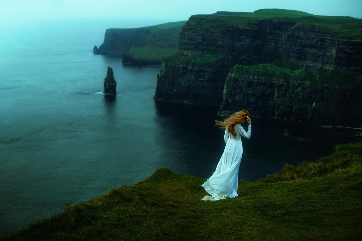 "test Twitter Media - ""Not all who wander are lost."" — JRR Tolkien What is her story? What drew her to the enchanting Cliffs of Moher, #Ireland. Posted in anticipation of St. Patrick's Day.  Image by Follow Me Away.  #amwriting #writingcommunity #fantasyfan https://t.co/lEehVzx7vk"
