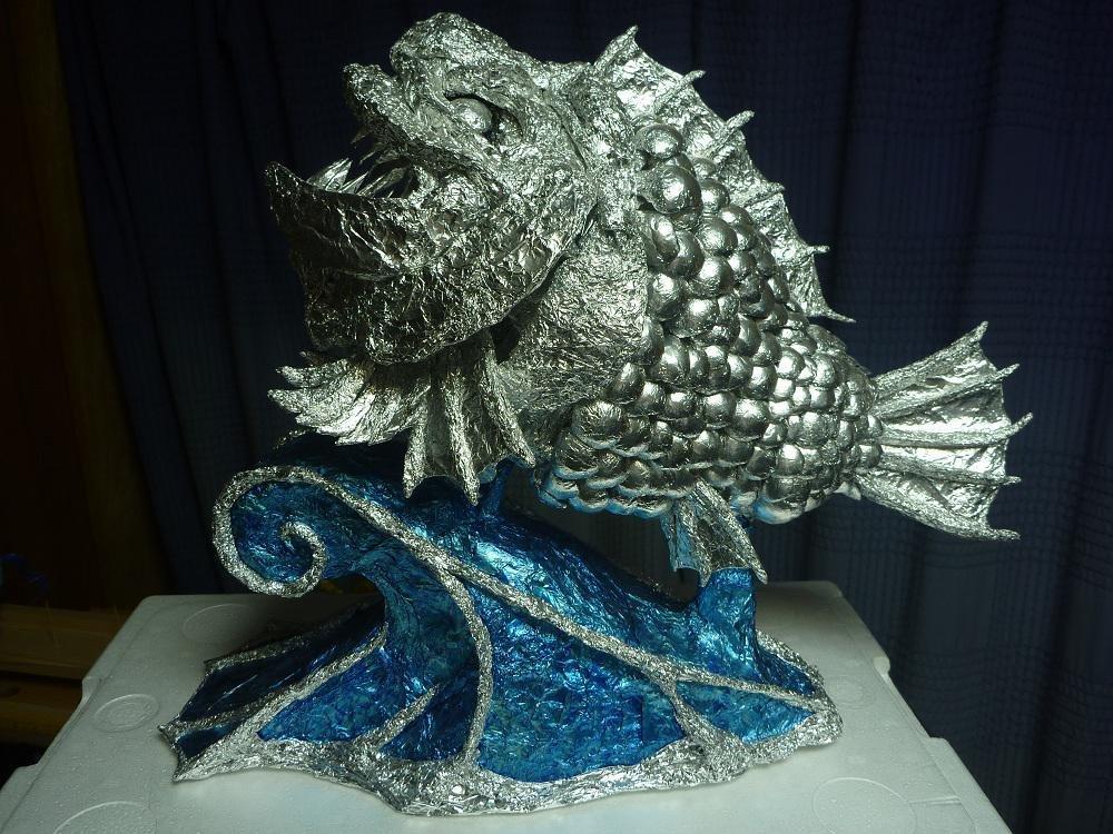 RT @hakuya_89: #あなたっぽい魚 アルミホイルで水族館🐠 https://t.co/CvQtPYNNy4