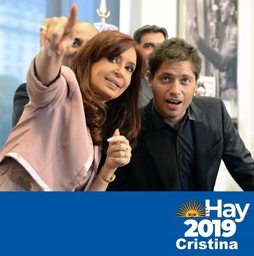 Agustin's photo on #FuerzaCristina