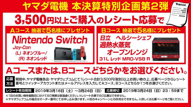 ヤマダ 電機 switch