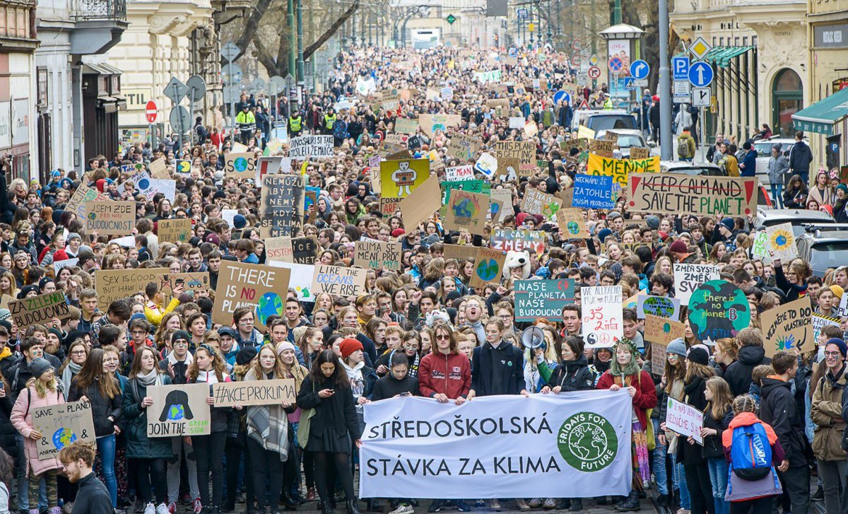 Over ONE MILLION young people took to the streets in the largest global #climate mobilization this world has ever seen.  Let us head their call. #ActOnClimate  #climate #energy #ClimateStrike #FridaysForFuture #YouthStrike4Climate #cdnpoli #GreenNewDeal @GretaThunberg<br>http://pic.twitter.com/MJsbXDrksO