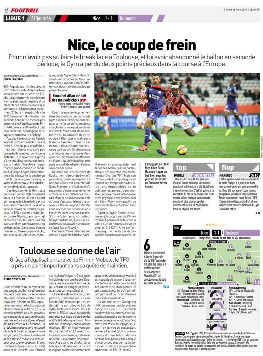 Cédric Rocancourt's photo on #OGCNice