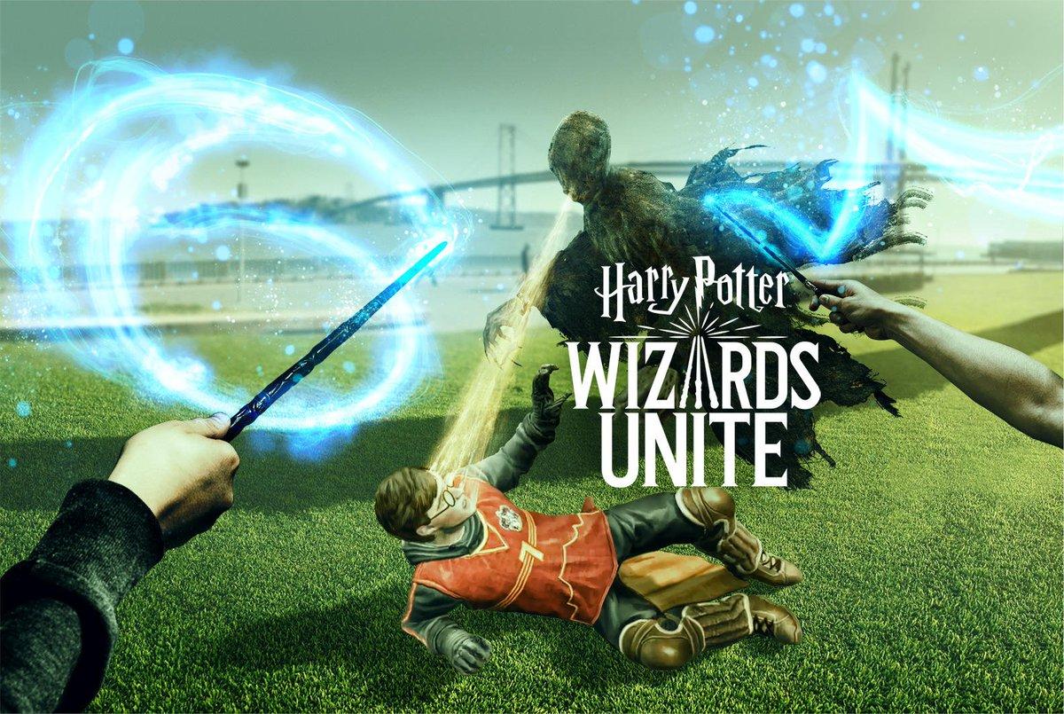Imagen oficial de Harry Potter: Wizards Unite de su página de Twitter