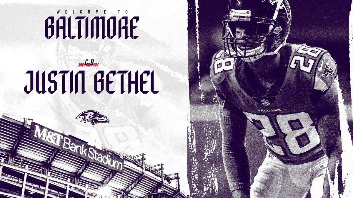 Baltimore Ravens's photo on Justin Bethel
