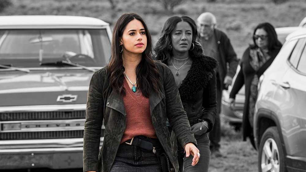 .@itsjeaninemason on being a leading Latina in CW's #RoswellNewMexico  �� Listen: https://t.co/W7gRgNb5hG https://t.co/BHnu0FtHWl