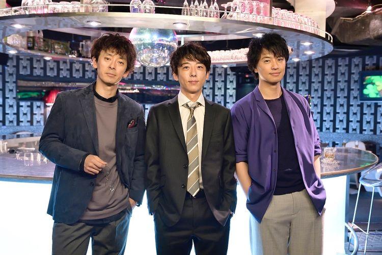 Crank-in filming of TV Asahi spring drama &quot;Tokyo Dokushin Danshi&quot; starring #TakahashiIssei #SaitoTakumi and #TakitoKenichi. Starts in April every Saturday at 11.15 pm.  #高橋一生 #斎藤工 #滝藤賢一 #東京独身男子<br>http://pic.twitter.com/8U7kDJr9At