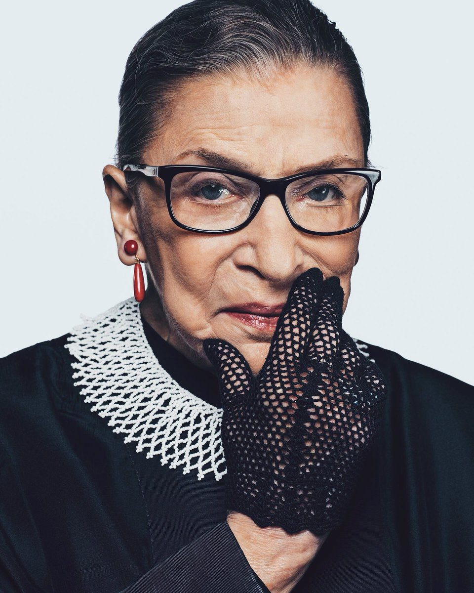 Happy Birthday to the matriarch of the SCOTUS, #RBG. May God bless her with the health, strength and vitality to continue championing issues that impact the most marginalized in the US.  Also, would it be improper of a justice to release a line of jabot's? Asking for a friend🧐