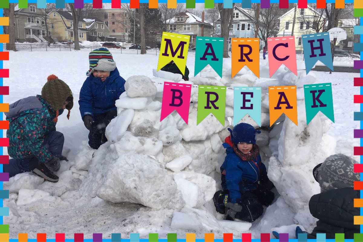 Happy March Break to all of our Tupper Families & Staff! We will see you back Monday March 25th when it is officially Spring🌷! (We hope 🤞)