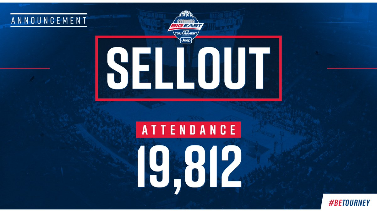 Oops we did it again...  3⃣ Nights - 3⃣  Sellouts  Thanks to the BEST FANS in college basketball.