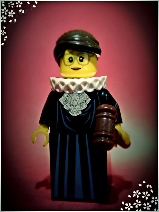 I almost forgot to wish Happy Birthday to Ruth Bader Ginsburg.