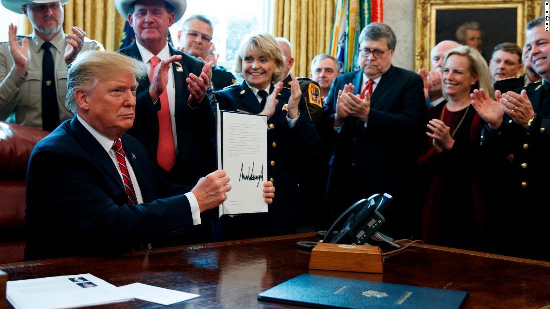 Donald Trump's week of the veto | Analysis by CNN's @LaurenDezenski https://t.co/pngbmEjBOE https://t.co/WyoLGbPR09