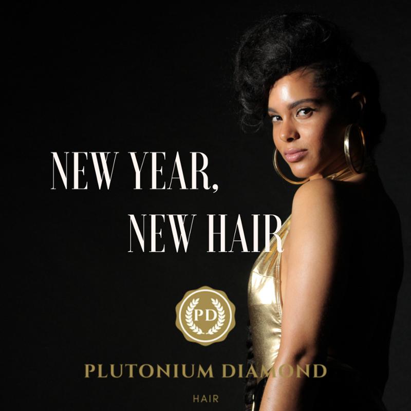 New Year, New Hair. #PlutoniumDiamondHair**** #beautifulhairstyle#fabulous#luxury#glamour #b