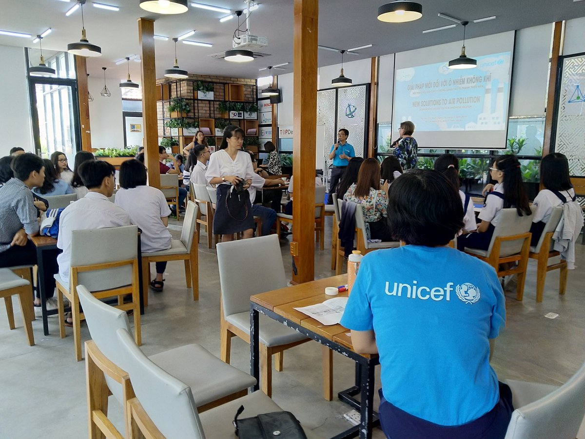 test Twitter Media - Glad to join Ho Chi Minh City's youth, @UNICEF and @cleanairasia to find solutions to air pollution together at a time where the number of smoggy days and coal-fired powerplants are on the rise #careforair https://t.co/ayuKI7EG2D