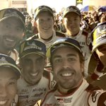 YES!!!! Thanks Sebring, what a weekend! I wanted this one 🏆!!! #wec #toyota #sebring 🇺🇸