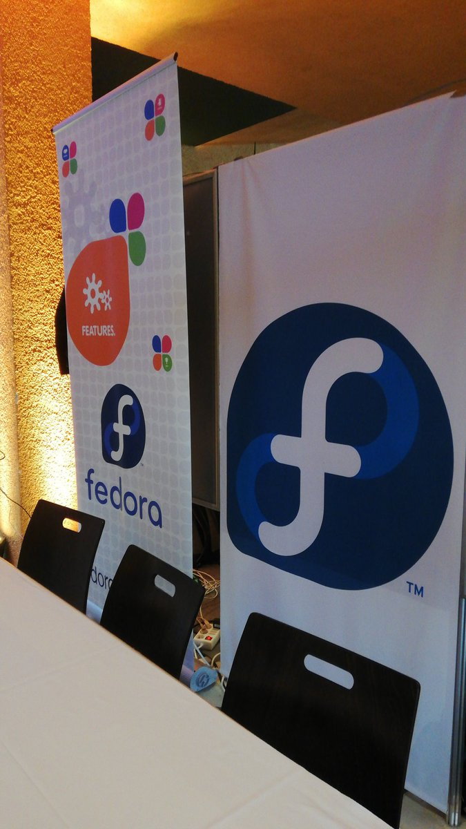 Here we go... @fedora is ready for #CLT <br>http://pic.twitter.com/Q2Ic5a7vWT